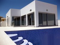 DETACHED VILLAS WITH PRIVATE POOL IN QUESADA