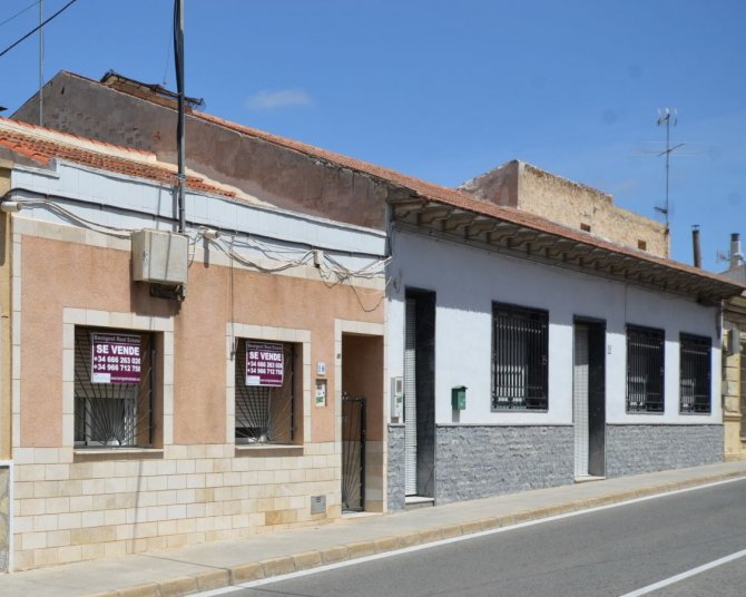 Traditional Spanish townhouse