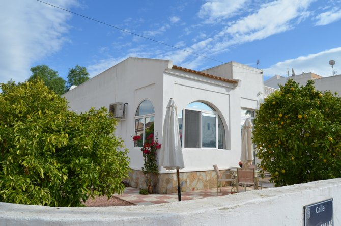 Bargain semi detached villa with room to extend