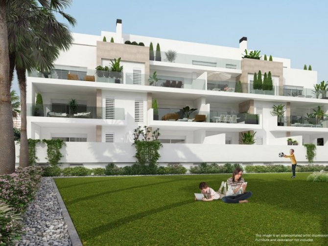 New 2 Bed Apartments in Los Dolses