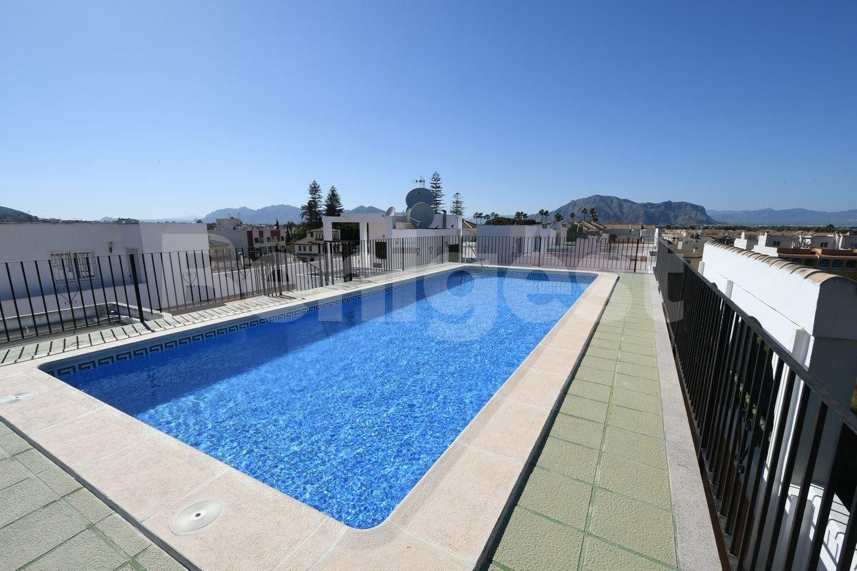 Penthouse apartment with private solarium