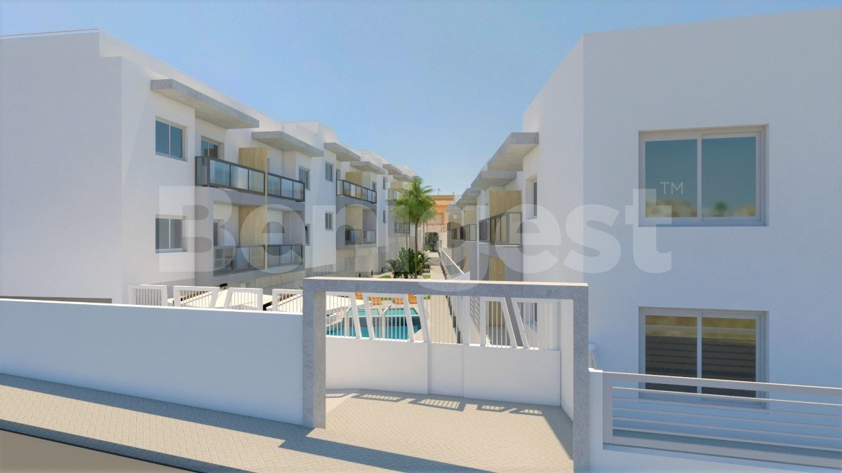 Three bedroom new build apartments in Benijofar