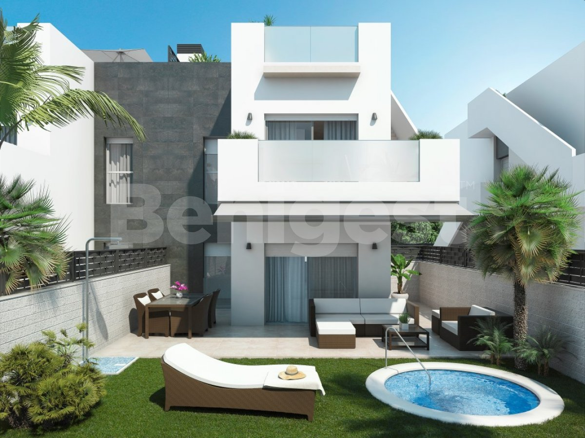 New modern apartments in Rojales