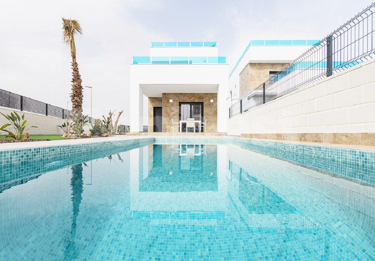 Three bedroom new build detached villa in Benijofar