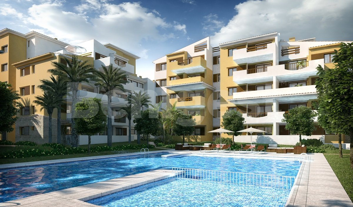 New build apartments by the sea in Punta Prima