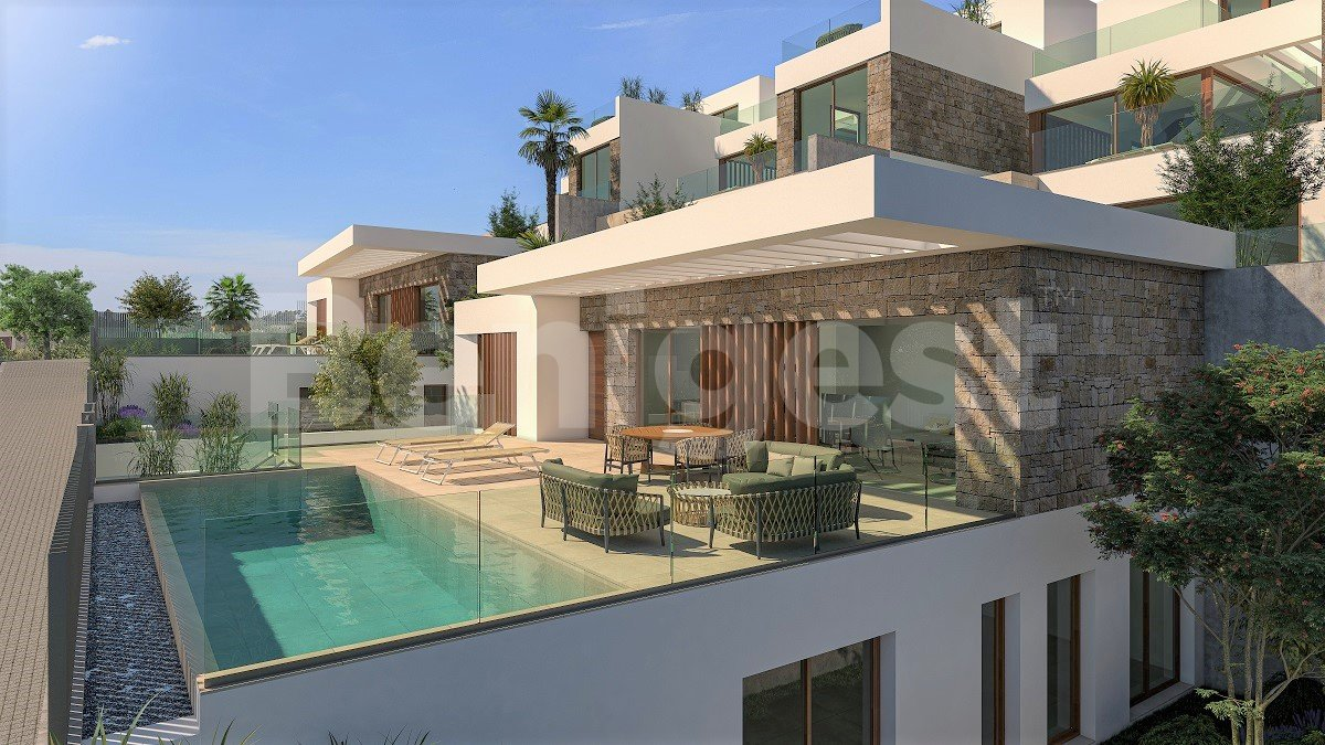 Magnificent four bedroom villas with panoramic views