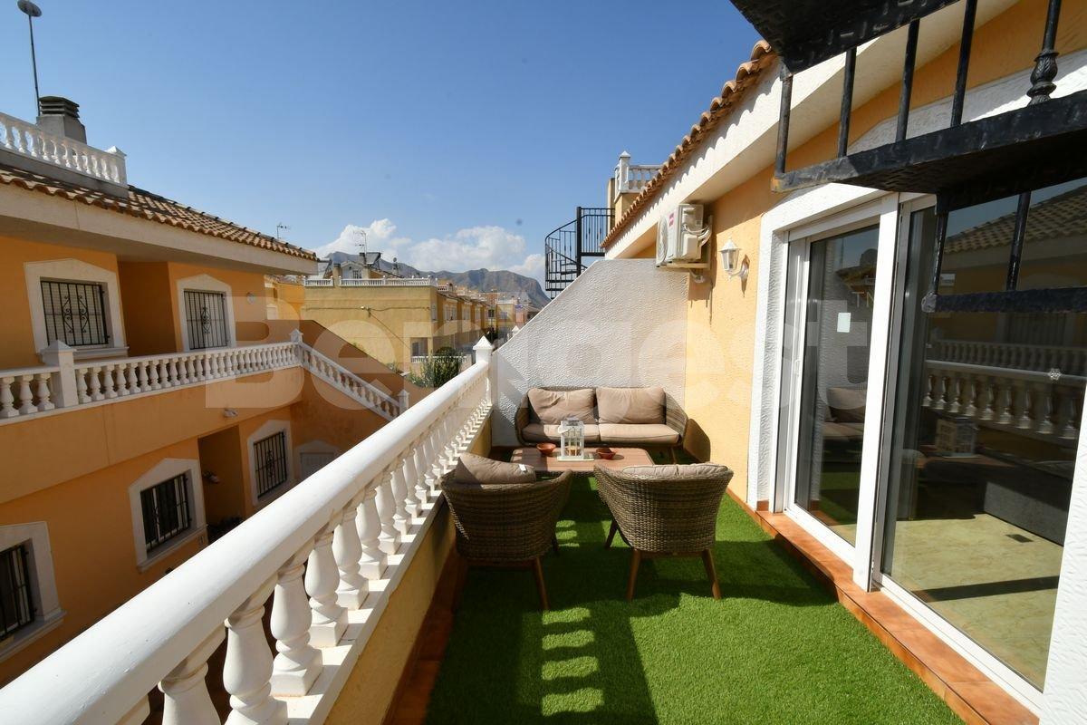 First floor apartment with private solarium