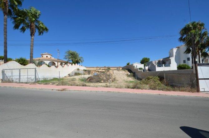 Plot of land 1050m2 in Ciudad Quesada
