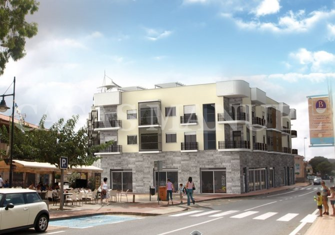 New Build Apartments on the Mar Menor