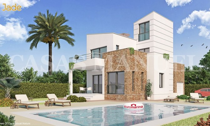 Stunning Los Alcazares Villas