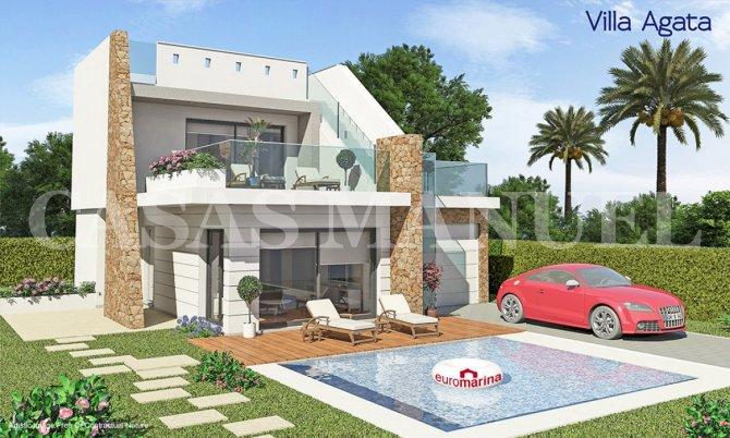 Stunning villas in Los Alcazares