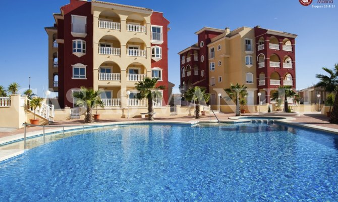 New Build Apartments in Los Alcazares
