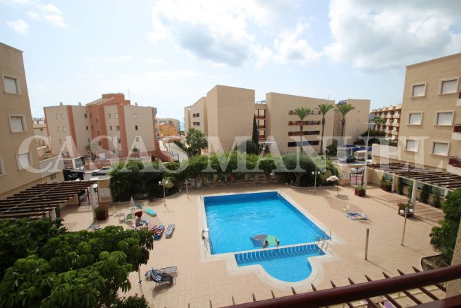 2nd Floor Cabo Roig Apartment with sea views