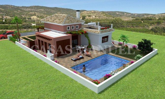 Beautiful Detached Villas in Los Alcazares