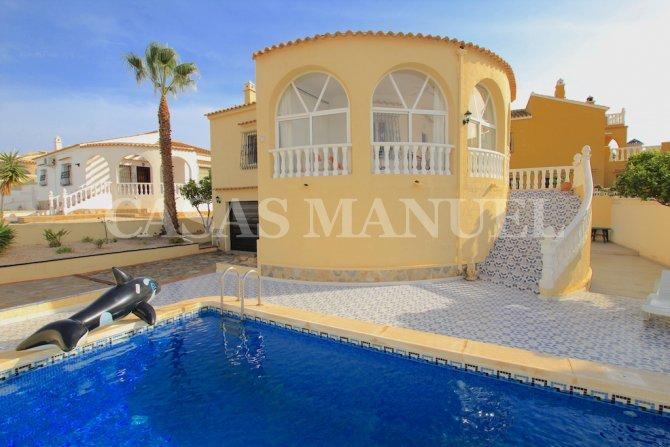 South-Facing Villa with Pool + Garage