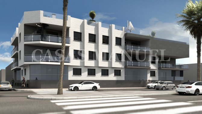 Stunning New Build Apartments 300M from the Beach