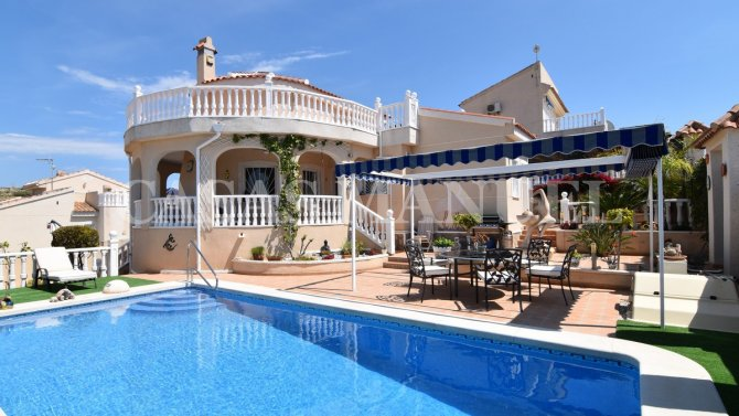 Benimar Villa with Private Pool