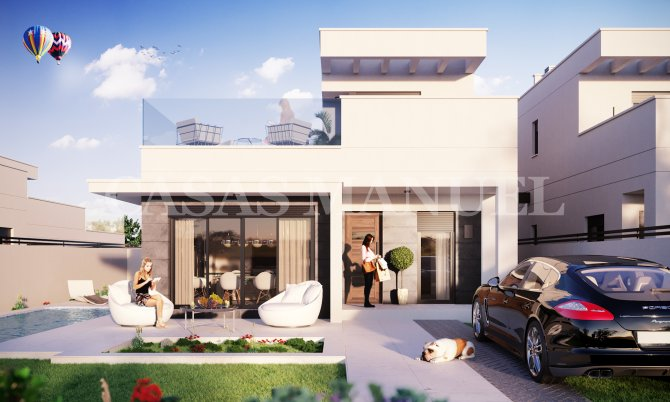 Semi detached New Build Villas