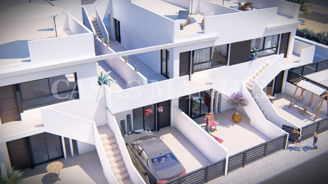 New Build Apartments in Lo Pagan