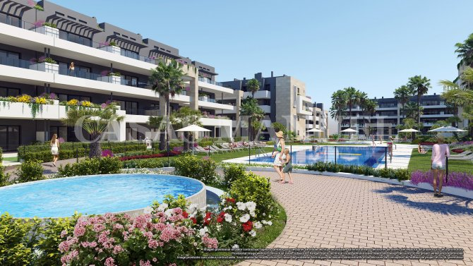 Apartments in Playa Flamenca Village!