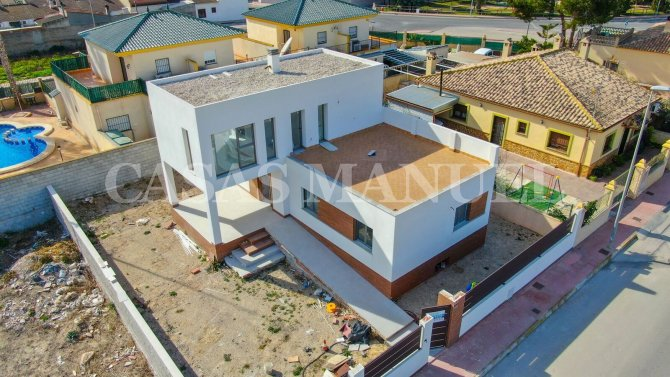 Modern Villa in Traditional Spanish Village