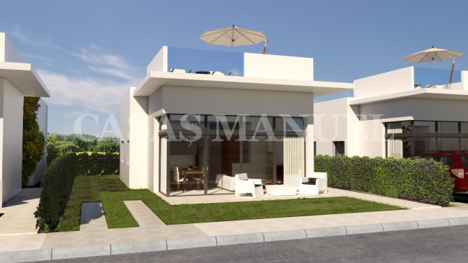 New Build Villas in Condado de Alhama