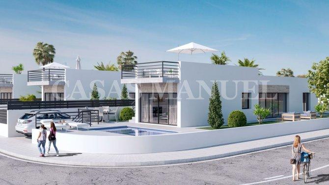 Modern Villas with underbuild and Pool in Daya Nueva