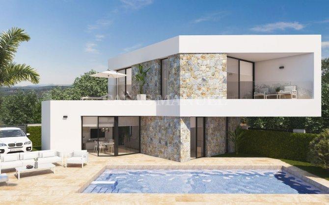 One Off New Build Villa in Benijofar Village