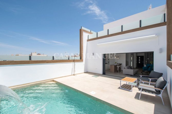 Terraced & Semi detached Villas with Private Pool