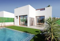 Villas 200m from the beach in Santiago de la Ribera