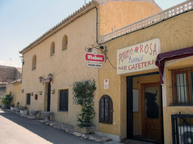 Bar Restaurant in Cañada del Trigo
