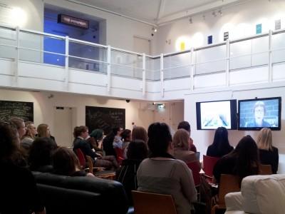 OPEN 2014: A Talk in the Peter Scott Gallery, Lancaster University