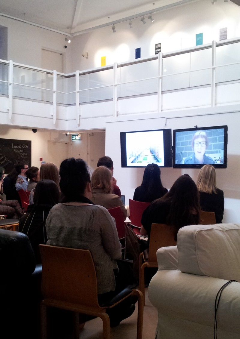 OPEN 2014: A Talk in the Peter Scott Gallery, Lancaster University