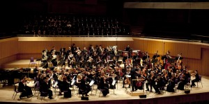 Chetham's Symphony Orchestra perform at Lancaster Arts at Lancaster University on 18 February 2016.