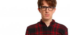 James Veitch presents his comedy theatre show 'Dot Con' at the Nuffield Theatre, Lancaster Arts at Lancaster University on the 8 November 2016.