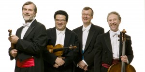 Endellion String Quartet perform at Lancaster University's Great Hall 14 March 2019.
