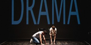 Visual Artist Keren Cytter presents 'Show Real Drama' at The Nuffield Theatre, Lancaster on 8 December 2015.