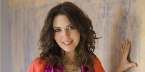Pianist Gabriela Montero performs with Giovanni Guzzo (Director/Violin) at Lancaster Arts at Lancaster University on 19 November 2015.
