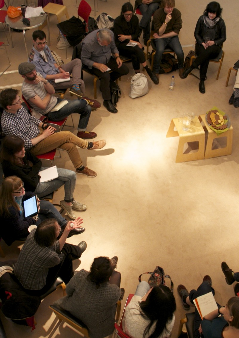 OPEN discussion in the Peter Scott Gallery from 2014.