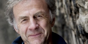 Sir Ranulph Fiennes appears with Sir Christopher Bonington on 29 September 2016 at Lancaster Arts at Lancaster University