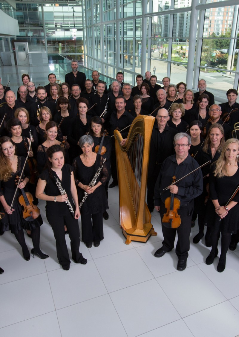 BBC Philharmonic perform at Lancaster University's Great Hall on Thursday 7 February 2019.
