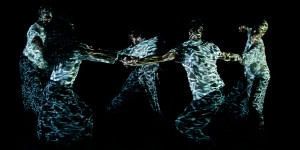 Russell Maliphant Company: Silent Lines. Nuffield Theatre, Lancaster. 11 & 12 October 2019.   Dancers: Alethia Antonia, Will Thompson, Edd Arnold, Grace Jabbari, Moronfoluwa Odimayo.