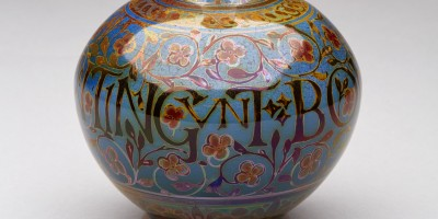 Vase, 1913. Lustre by William Mycock. Shape 3011.