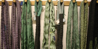 Photos of the span straps in the workshop