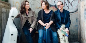 The Gould Piano Trio perform at Lancaster University's Great Hall on 27 October 2016.
