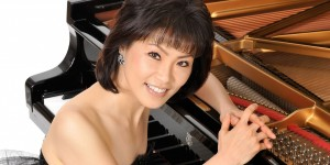 Pianist Noriko Ogawa performs at Lancaster University's Great Hall on 9 March 2017