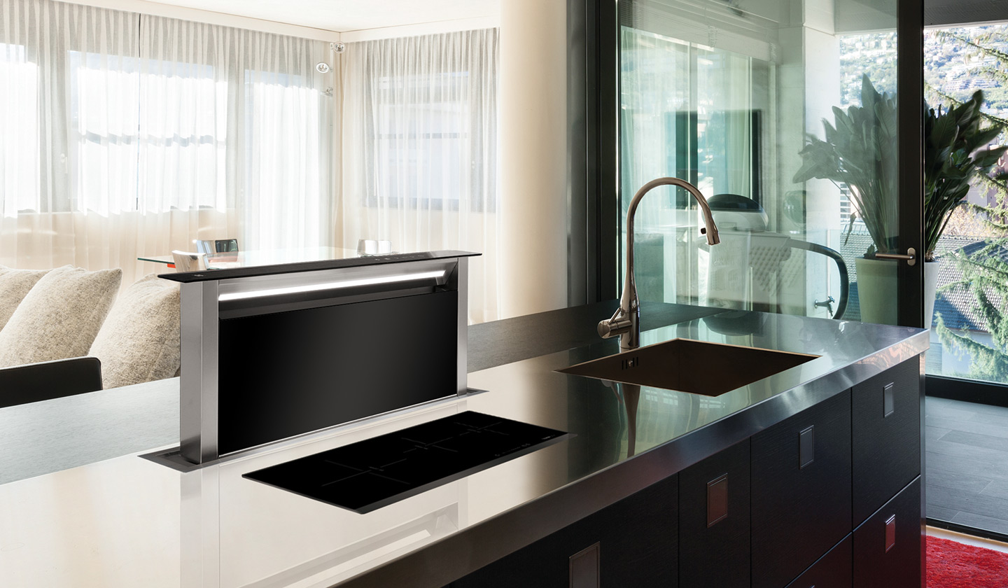 Finally, Important For Those Kitchens That Have No Outlet To The Outside.  The Extraction Of Fumes Can Be Solved With A Filter Hood That Purifies The  Air.