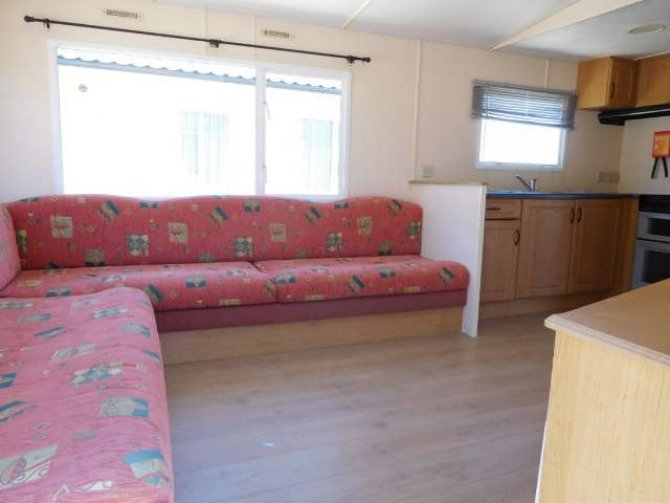 Unsited Consalt Torbay 2 bed mobile home