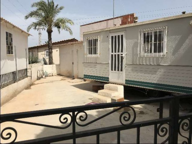 Mobile home with freehold 100m2 plot on Mi-Sol Park Torrevieja