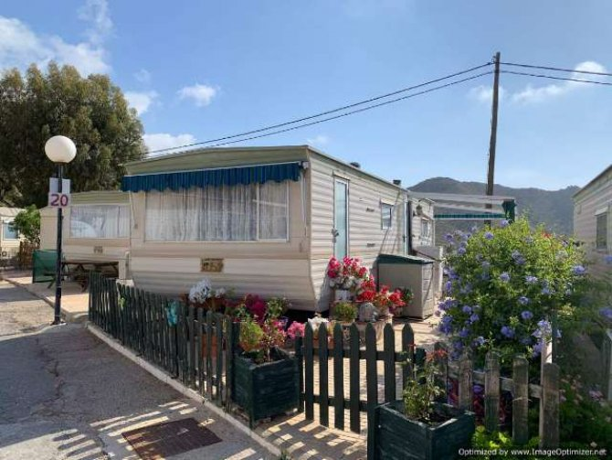 Static Caravan by the Beach